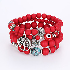 European And American Fashion And Lovely Eyes Bracelet Multilayer Hand String