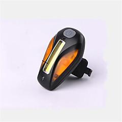 Eclairage de Vélo / bicyclette Lampe Arrière de Vélo Cyclisme Rechargeable Taille Compacte Antidérapant USB Pile au Lithium Lumens USB