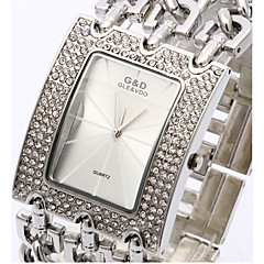 Bracelet Watch Quartz Alloy Band Silver