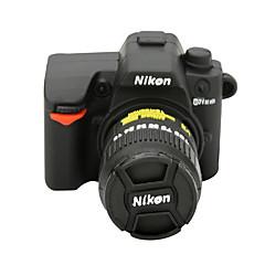 32gb kamera kauçuk USB2.0 flash sürücü diski