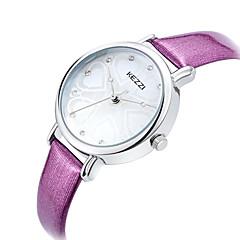 KEZZI Sat uz haljinu Modni sat Ručni satovi s mehanizmom za navijanje Kvarc PU Grupa Heart Shape Šarm Cool NeformalnoCrna Bijela Crvena