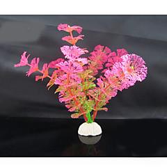 Διακόσμηση Ενυδρείου Υδρόβιο φυτό Τεχνητά Πλαστικό Τυχαία Χρώματα