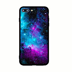 For Mønster Etui Bagcover Etui Landskab Hårdt Akryl for AppleiPhone 7 Plus iPhone 7 iPhone 6s Plus iPhone 6 Plus iPhone 6s iPhone 6
