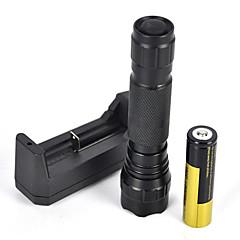 2000LM XM-L T6 LED 18650 Tactical Flashlight Torch Lamp Light (5 kinds of luminous color full set)