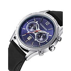 Masculino Mulheres Unissex Relógio Esportivo Relógio Elegante Relógio Esqueleto Relógio de Moda Relógio de Pulso Quartzo Silicone Banda