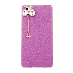 Voor Mat DHZ hoesje Achterkantje hoesje Glitterglans Zacht TPU voor Huawei Huawei P8 Huawei P8 Lite