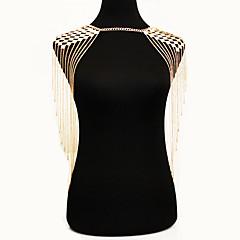 Damskie Biżuteria Łańcuch nadwozia / Belly Chain Natura Modny Bohemia Style Stop Gold Biżuteria Na Specjalne okazje Casual 1szt