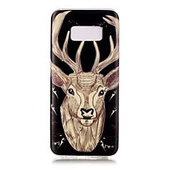 Για Λάμπει στο σκοτάδι IMD Με σχέδια tok Πίσω Κάλυμμα tok Ζώο Μαλακή TPU για Samsung S8 S8 Plus S7 edge S7 S6 edge S6 S5