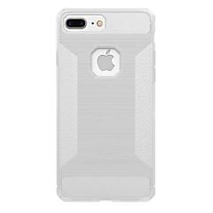 Για Ημιδιαφανές tok Πίσω Κάλυμμα tok Μονόχρωμη Μαλακή Ανθρακονήματα για AppleiPhone 7 Plus iPhone 7 iPhone 6s Plus iPhone 6 Plus iPhone