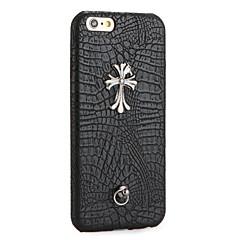 Varten DIY Etui Takakuori Etui Punk Kova Tekonahka varten Apple iPhone 7 Plus iPhone 7 iPhone 6s Plus/6 Plus iPhone 6s/6