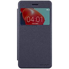 Voor met venster Flip Mat hoesje Volledige behuizing hoesje Effen kleur Hard PC voor Nokia Other