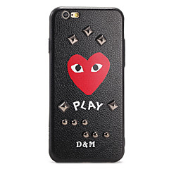 For Pattern DIY Case Back Cover Case Cartoon Heart Hard PC for Applei Phone 7 Plus 7 6s Plus 6 Plus 6s 6