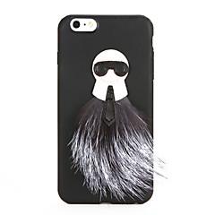 For DIY Case Back Cover Case 3D Cartoon Soft TPU for Apple iPhone 7 Plus iPhone 7 iPhone 6s Plus iPhone 6 Plus iPhone 6s iPhone 6
