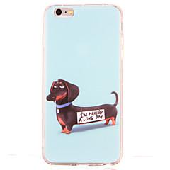 Na Odporne na wstrząsy Wzór Kılıf Etui na tył Kılıf Pies Miękkie TPU na AppleiPhone 6s Plus iPhone 6 Plus iPhone 6s iphone 6 iPhone SE/5s