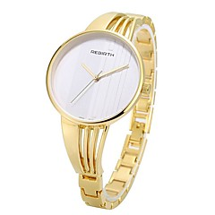 Women Skeleton Watch Fashion Watch Quartz Alloy Band Vintage Casual Silver Rose Gold Gold Silver