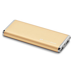 SCUD® 10000mAh power bank 2A Max external battery Multi-Output with Cable Super Slim