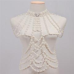 Γυναικεία Κοσμήματα Σώματος Body Αλυσίδα / κοιλιά Αλυσίδα Μοντέρνα Πεπαλαιωμένο Χειροποίητο Απομίμηση Μαργαριταριού Στρας Κράμα Κοσμήματα