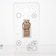 Για Στρας Βάση δαχτυλιδιών Διαφανής Φτιάξτο Μόνος Σου tok Πίσω Κάλυμμα tok Πλακίδια Μαλακή TPU για Samsung A7