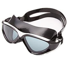Úszás Goggles Páramentesítő Kopásgátló Vízálló Állítható méret UV-védő Karcolásálló Törhetetlen Csúszásgátló pánt Szilícium-dioxid gél PC