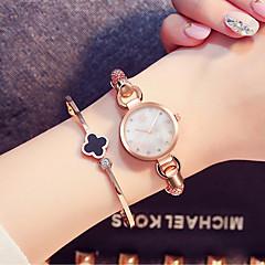 SK Dames Modieus horloge Armbandhorloge Chinees Kwarts Waterbestendig Stootvast Legering BandVintage Bedeltjes Bangle armband