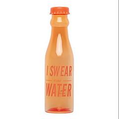 601-700ml hoge capaciteit transparante plastic waterfles