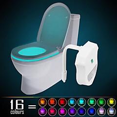 Ywxlight® ip65 16 couleurs activé pour le mouvement de la lumière de la nuit de la toilette dans toute la toilette imperméable à l'eau, la