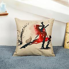 1 szt Bielizna Pokrywa Pillow Poszewka na poduszkę,Upiększać i haftowane Wzory graficznePrzypadkowy Biuro / Biznes Inne Akcent /