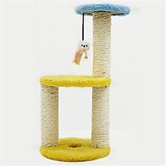 Παιχνίδι για γάτες Παιχνίδια για κατοικίδια Διαδραστικό Μπλοκ για ξύσιμο νυχιών Sisal