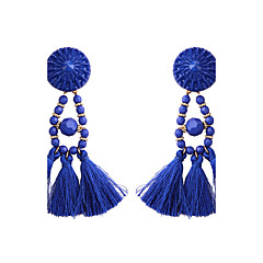 Women's Drop Earrings Jewelry Tassels Fashion Bohemian Alloy Jewelry Jewelry For Party Gift Casual