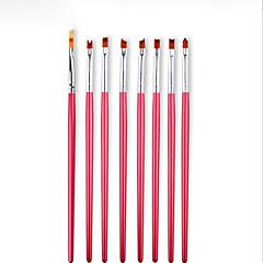 8PCS Nail Art tool  Petals The Pattern Pen Flowers The Brush Bar Suit