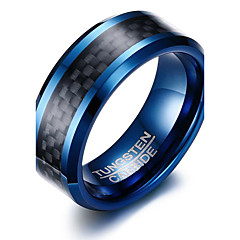 Ring Basis Simple Style Modisch individualisiert Euramerican Wolframstahl Kreisform Runde Form Geometrische Form Schmuck FürParty