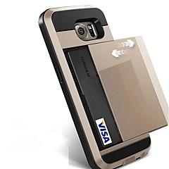 Dla samsung galaxy s8 plus s8 obudowa telefonu pokrowiec na karty kredytowe pokrowiec na portfel samsung galaxy s7 krawędź s7 s6 krawędź