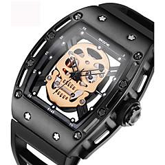 Męskie UniseksSportowy Wojskowy Do sukni/garnituru Szkieletowy Modny Zegarek na nadgarstek Zegarek na bransoletce Unikalne Kreatywne
