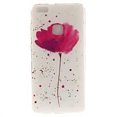 Για Θήκες Καλύμματα IMD Με σχέδια Πίσω Κάλυμμα tok Λουλούδι Μαλακή TPU για HuaweiHuawei P10 Lite Huawei P10 Huawei P8 Lite (2017) Huawei