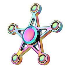 Fidget spinners Hand Spinner Speeltjes Speeltjes Aluminium EDCRelieves ADD, ADHD, Angst, Autisme Stress en angst Relief Kantoor Bureau