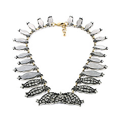 Women's Strands Necklaces Crystal Chrome Euramerican Vintage Personalized Silver Jewelry For Wedding Party Congratulations 1pc