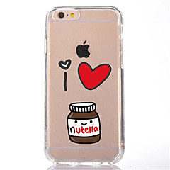 For iphone 7 cartoon tpu macio ultra-fino capa tampa para iphone maçã 7 mais 6s 6 mais se 5s 5 5c 4s 4
