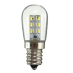 1W E12 Lampadine globo LED 24 SMD 2835 50-99 lm Bianco caldo Bianco Decorativo AC110 AC220 V 1 pezzo