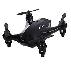 Drone RC 4CH 6 Eixos 2.4G - Quadcópero com CR Modo Espelho Inteligente Vôo Invertido 360° FlutuarControle Remoto 1 Bateria Por Drone