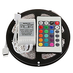 Ευέλικτες LED Φωτολωρίδες Σετ Φώτων Φωτολωρίδες RGB lm DC12 V 5 m leds RGB