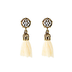 Drop Earrings Pendant Tassel Euramerican Fashion Luxury Fabric Alloy Geometric Jewelry For Gift Casual Outdoor 1 pair