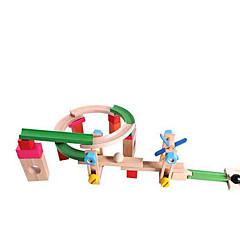 Byggeklodser Pædagogisk legetøj Racerbanesæt Til Gave Byggeklodser Træ 2 til 4 år 5 til 7 år Legetøj
