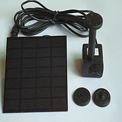 Aquarium Water Pump With Switch(es) Noiseless Solar Non-toxic & Tasteless Artificial Adjustable Plastic 1.4W110V