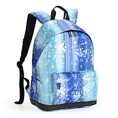 13-es könnyű nylon PU bőr utazási hátizsák hátizsák nők iskola táska laptop hátizsák daypack iskolai dolgozó túrázás