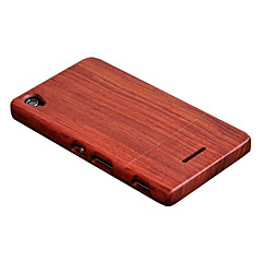 Cornmi voor Sony Sony Xperia T3 Case Rose Wood Case Walnut Houten Shell Hard Back Cover