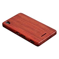 Cornmi για Sony sony xperia t3 περίπτωση αυξήθηκε ξύλο περίπτωση καρυδιά ξύλινο κέλυφος σκληρό πίσω κάλυμμα