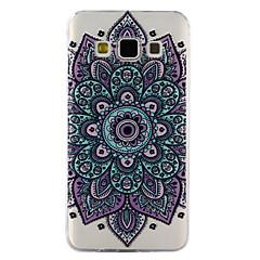 Voor Samsung Galaxy A3 A5 (2017) case cover datura bloemen patroon druppel lijm vernis hoogwaardig tpu materiaal telefoon hoesje a3 a5