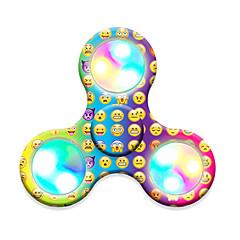 Σβούρες πολλαπλών κινήσεων χέρι Spinner Παιχνίδια Tri-Spinner LED Spinner Πλαστικό EDCΦως LED Στρες και το άγχος Αρωγής Γραφείο Γραφείο