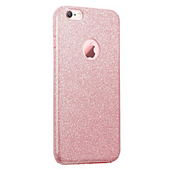 Voor iPhone 8 iPhone 8 Plus Hoesje cover IMD Achterkantje hoesje Glitterglans Zacht TPU voor Apple iPhone 7s Plus iPhone 8 iPhone 7 Plus