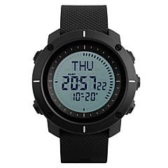 SKMEI Αντρικά Αθλητικό Ρολόι Στρατιωτικό Ρολόι Μοδάτο Ρολόι Ρολόι Καρπού Ψηφιακό ρολόι Ιαπωνικά ΨηφιακόLED Compass Ημερολόγιο Χρονογράφος